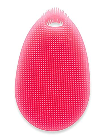 SpülWunder Éponge en silicone et brosse à vaisselle, rouge, vu à la télé