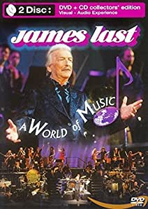 James Last - a World of Music [With CD] [(+CD - collector's edition)] [Import anglais]