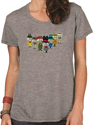 Wacky Races Ant Hill Mob Women's Fit Heavyweight T-Shirt.