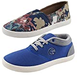 #5: Globalite Women's Combo Of 2 Casual Shoes
