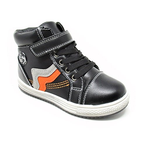 Kids Boots with Inside Zip and Synthetic Fur Lining