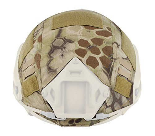 Helm-cover Für Fast-helm (Helm Cover Paintball Tuch Wargame Army Airsoft Taktische Military Camouflage Cover für FAST / PJ / MH Helm)