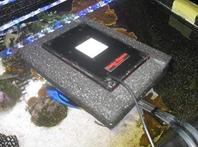 Santa Monica Filtration SURF2 Flottant Ascendant Flux Algues Frotter ATS Aquarium Filtre Turf Eau salée remplace chaeto réacteur protéine écumoire biopellet zeo Changement d'eau