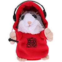 Domybest Electronic Talking Hamster Toy Plush Sound Repeat Pet Repeated What You Talk Doll Kids Educational Gift - Compare prices on radiocontrollers.eu