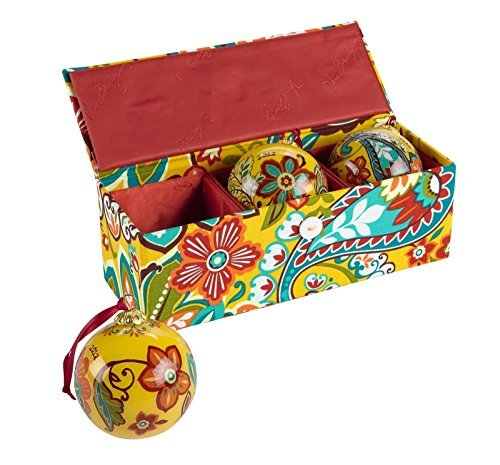 vera-bradley-ornament-trio-in-provencal-dated-pattern-release-year-2012-by-vera-bradley