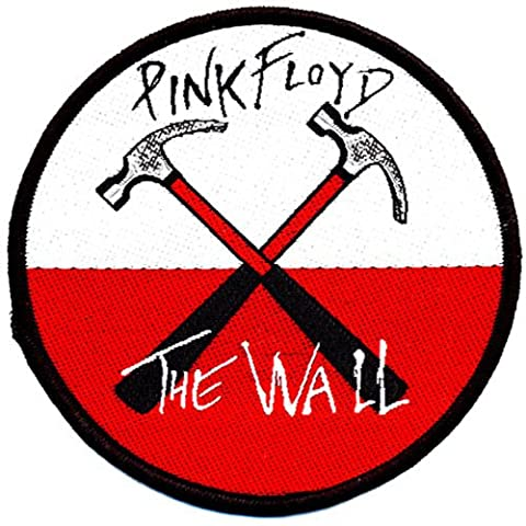 Pink Floyd - Patch Hammers (in 9 cm)
