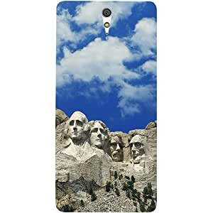 Casotec Rock Art Design Hard Back Case Cover for Sony Xperia C5 Ultra Dual