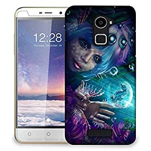 Snoogg Mermaid Fantasy Designer Protective Phone Back Case Cover For Coolpad Note 3 Lite