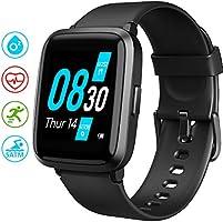 Smartwatch UMIDIGI Uwatch3 Bluetooth Smart Watch Fitness Tracker Smart Sport Uhr mit Kamera Schrittzähler Schlaftracker...