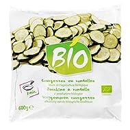 Courgettes BIO - 600 g - Surgelé