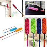 SMARTSTORE Extendable Microfibre TELESCOPIC DUSTER -Feather & Noodle Duster & Cleaner -Home & Car, FREE Microfibre Mitt