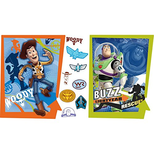 RoomMates Disney Toy Story Buzz et Woody Poster géant Stickers muraux