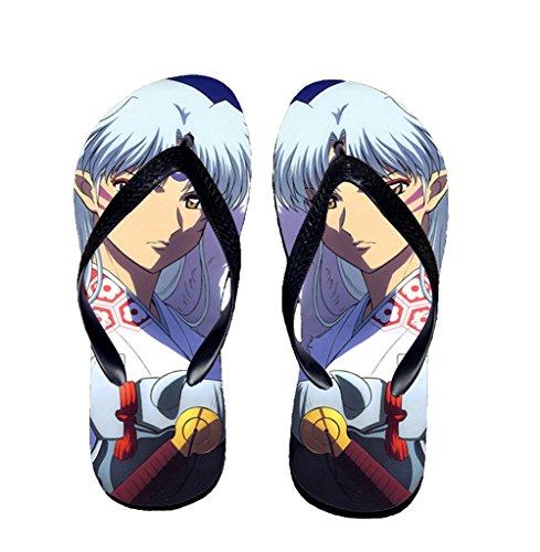 Bromeo Inuyasha Anime Unisexe Flip Flops Tongs 594
