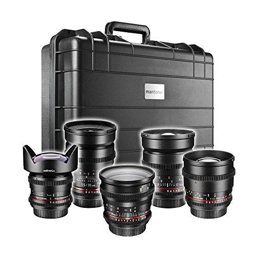 Walimex Pro Video DSLR Komplett Set für Canon EF