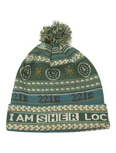 Martin Kostüm Baker - LOVARZI Sherlock Mütze - Offiziell Holmes Mütze BBC lizensiertes - Gestrickte Winter Beanie Hüte