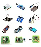 #5: OLatus 12 In 1 Sensor Modules Kit For Arduino Uno , Mega 2560, Raspberry Pi