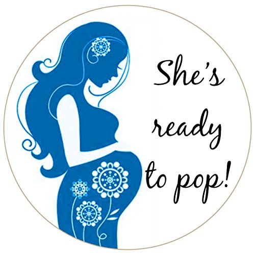 ready to pop stickers template ready to pop baby shower