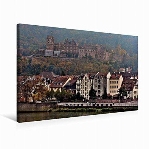 Calvendo Leinwand Heidelberger Schloss 75x50cm, Special-Edition Wandbild, Bild auf Keilrahmen, Fertigbild auf Hochwertigem Textil, Leinwanddruck, Kein Poster