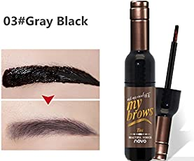 Generic Natural Eyebrow Gel Waterproof Makeup Brown Black Red Wine Peel Off Eye Brow Tattoo Tint Long Lasting Dye Korean Cosmetics Kit