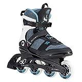 K2 Damen Inline Skates ALEXIS 80 PRO - Schwarz-Grau-Blau - EU: 40 (US: 9 - UK: 6.5) - 30D0772.1.1.090