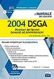 DSGA Direttore dei Servizi Generali ed Amministrativi