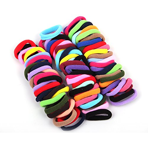 janecrafts-96pcs-8mm-girl-elastic-hair-ties-band-ponytail-holders-scrunchie-mixed-colors