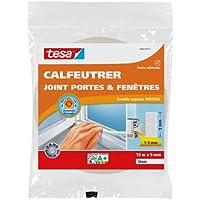 Tesa 05452-00102-00 Calfeutrer joint Portes & Fenêtres Polyvalent Comble espaces moyens 10 m x 9 mm x 6 mm