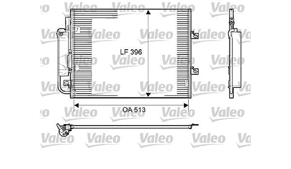 VALEO 814061 Kondensator Klimaanlage