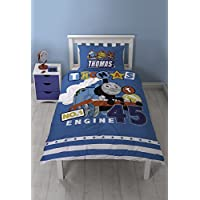 Thomas The Tank Engine Official Childrens/Boys Number 1 Engine Reversible Bedding Set
