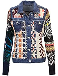 Felpe Maglioni amp; Blu it Desigual Amazon Cardigan ZnqWIYUPW