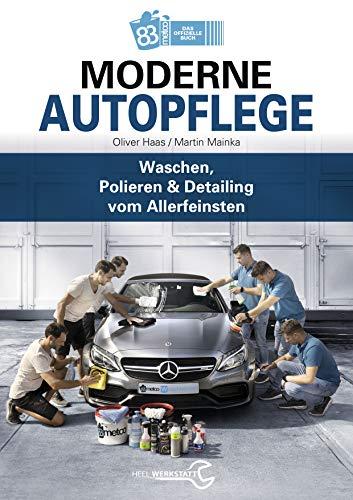 Moderne Autopflege: Waschen, Pol...