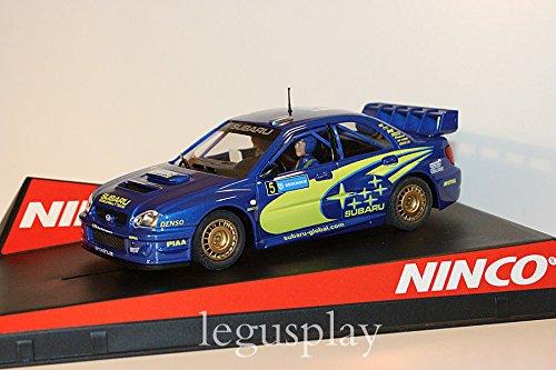 Slot Ninco 50308 Subaru WRC Swedish Rally 2005 Uddeholm