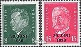 Prophila Collection Deutsches Reich 444-445 (kompl.Ausg.) 1930 Rheinlandbefreiung (Briefmarken für Sammler)