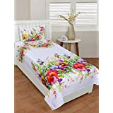 Bedsheets By Decorista|Single Bedsheets | Polycotton Bedsheets | Single Bedsheet|1 Bedsheet In 70% 5d Bedsheets| 1bedsheet With 1 Pillow Covers |Single Bedsheet 150 Tc