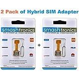 Smashtronics Hybrid Sim Slot Adapter - Bundle Pack Of 2/Pack Of 3/Pack Of 5 (2 Pack)