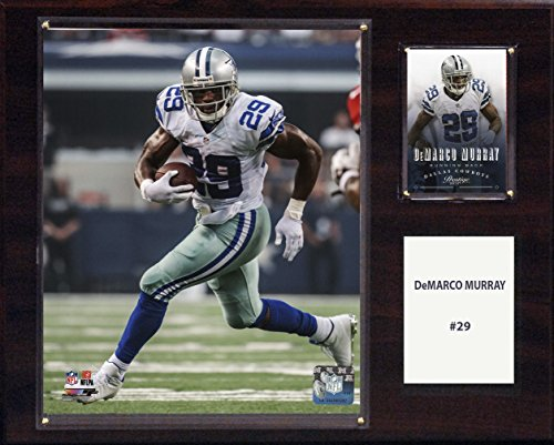 C & I Collectables NFL Dallas Cowboys Demarco Murray Player Plaque, 12x 15Zoll, Braun