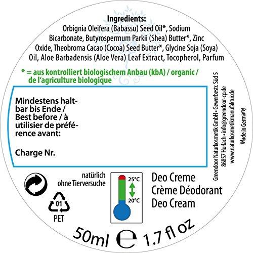 Greendoor intelligente Deo-Kombi zum Vorteilspreis: Body-Splash + Deo Creme, ohne Aluminium, vegan, Top Naturkosmetik aus der Manufaktur - 3
