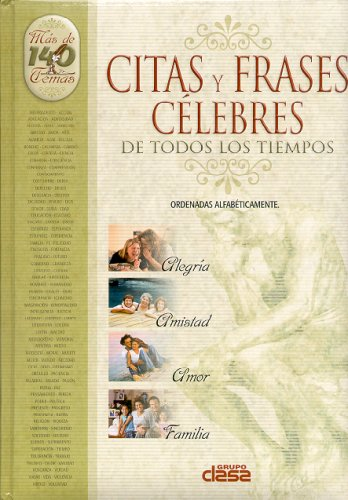Descargar Libro Citas Y Frases Celebres/ Quotations And Phrases: From the Most Renowned Characters de Martin Flores