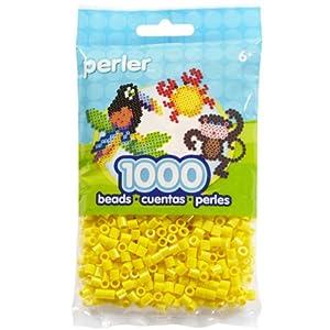 Perla Placer Fusión Abalorios 1000 / Pkg-Amarilla