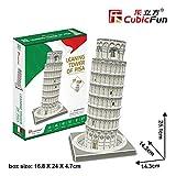 Puzzle 27 Teile - 3D Puzzle - Schiefer Turm von Pisa - (Schwierigkeit: 4/8)