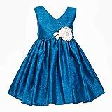 She Designs Girls' Dress (Sd_14_10_Blue ...