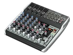 Behringer XENYX QX1202USB Console de mixage 12 entrées avec interface audio USB
