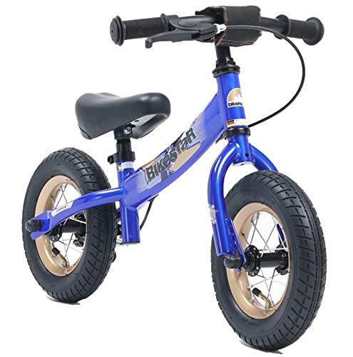 BIKESTAR® Premium Sicherheits-Kinderlaufrad für kleine Abenteurer ab 2 Jahren ★ 10er Sport Edition ★ Abenteuerlich Blau