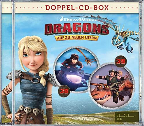 Dragons - Auf zu neuen Ufern - Doppel-CD-Box (Folgen 38 + 39)