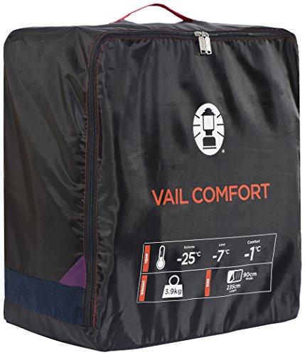 Coleman Schlafsack Vail, Comfort - 5