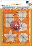 Fiskars ShapeCutter Set de démarrage, Avec Cutter à lame ShapeCutter, gabarit, Tapis de découpe et 2 lames de rechange, 1003878
