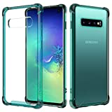 MoKo Compatible with Samsung Galaxy S10 Case, Crystal Clear
