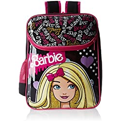 Barbie Pink and Black Backpack (MBE -  MAT039)