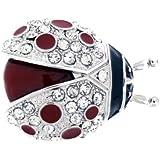 Jodie Rose Damen-Brosche Metall Glaskristall 30 mm 15773