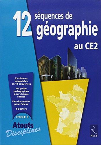 12 séquences de géographie au CE2